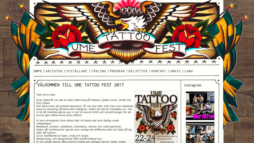 Ume Tattoo Fest